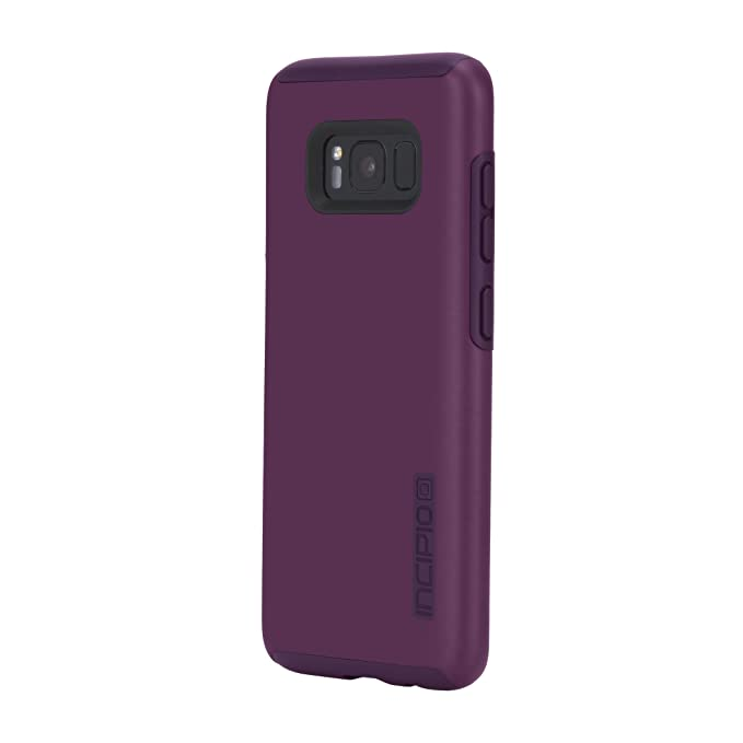 online retailer 1eb8b d6082 Samsung Galaxy S8 Case, Incipio [Hard Shell] [Dual Layer] DualPro Case for  Samsung Galaxy S8-Plum