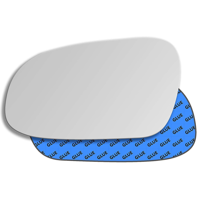 Hightecpl 223LS Left Passenger Side Convex Door Wing Mirror Glass