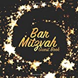 Bar Mitzvah Guest Book: Party keepsake for family