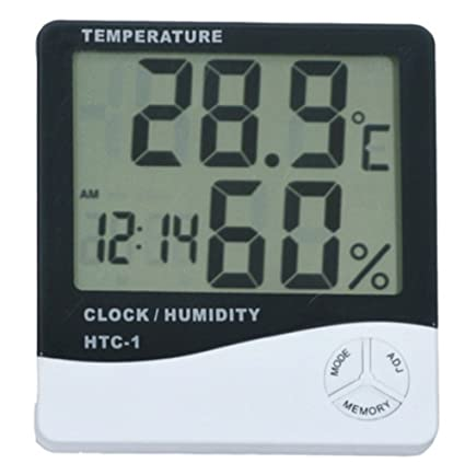 Image Unavailable. Image not available for. Color  Thermometer Indoor Digital  LCD Hygrometer ... 368834ae03857