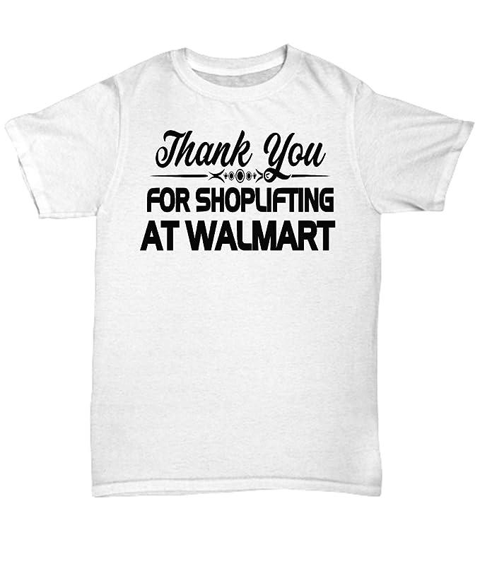 mmandiDESIGNS Thank You For Shoplifting At Walmart T Shirt