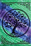 58''x82'' Tree of Life Multi Faith Design Tapestry