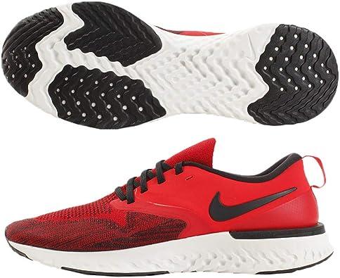 pista Contratación Necesario  Amazon.com | Nike Men's Odyssey React 2 Flyknit Red Orbit/Metallic  Gold/Black/Off White Mesh Running Shoes 9.5 M US | Road Running