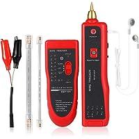 Detector de cables eléctricos, Probador de Cable RJ11 RJ45, Comprobador de Cables, Buscador de Líneas Rastreador de…