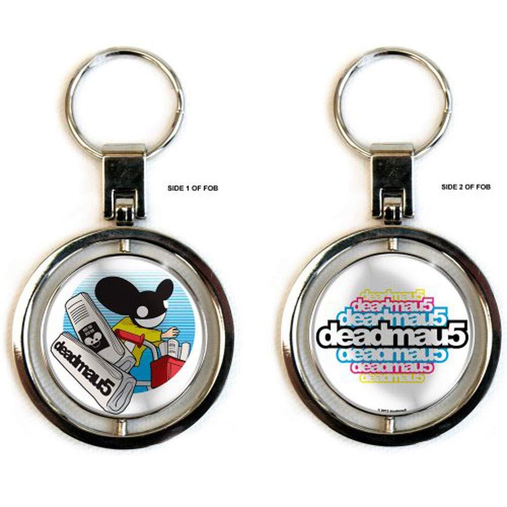 Deadmau5 - Paper Mau5 Spinner Keyring