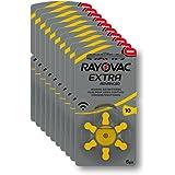 Rayovac R-extra-10 avancée Piles auditives (type: 10, 60-pack)