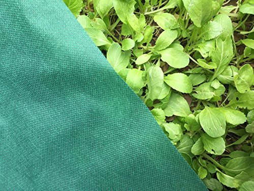 OriginA Plant Row Cover Summer Shading, 1.5 oz/sq.yd, 7x25ft,Bug/Insect Barrier Cover by OriginA (Image #2)