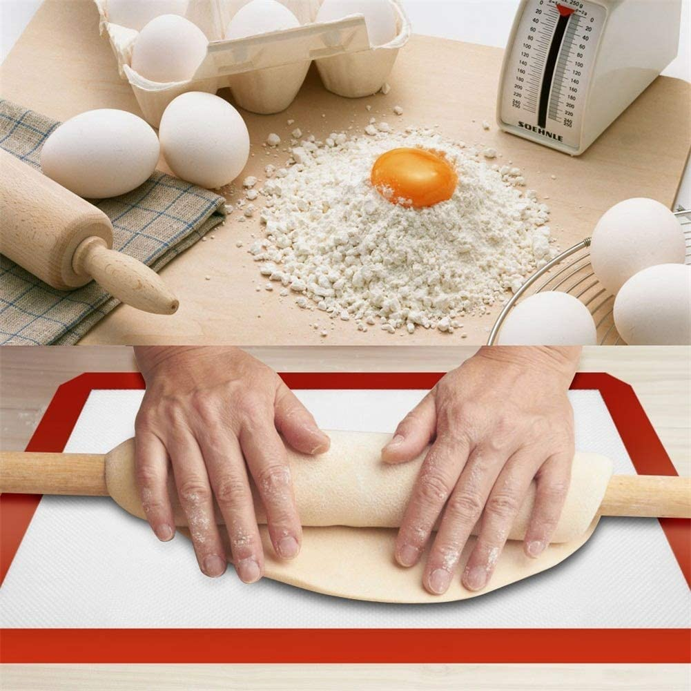 Luxsea Baking Silicone Mat Non-stick Baking Pad For Cake Oil Pastry Snack Mat Bake-ware Baking Pans for BBQ Grill