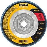 DEWALT DW8311 4-1/2-Inch by 5/8-Inch -11 36 Grit Zirconia Angle Grinder Flap Disc