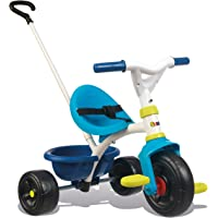 Smoby 740323 Be Fun Blauwe Driewieler, Blauw, 1 maat