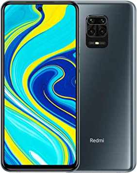 Xiaomi Redmi Note 9S 6GB 128GB 48MP AI Quad Camera 6.67 FHD+ 5020mAh Typ18W Charge Rapide Gris interstellaire