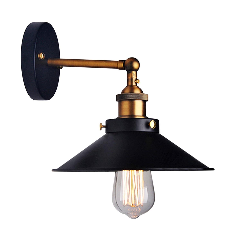 LemonBestR Jahrgang Industrielle Regenschirm Vintage Loft Wand Licht Lampen Befestigungen Retro