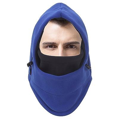 Hiver Ski visage Écharpe Chapeau de masque thermique Polaire chaude épaissir coupe-vent Headwear cou pour l'extérieur
