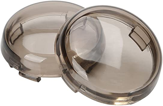ZYTC Smoked Turn Signal Lens Covers Lenses for Harley-Davidson Pack of 2
