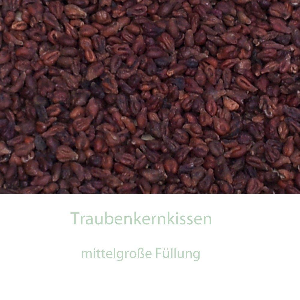 W/ärmekissen /& K/ältekissen Bio-Dinkelkissen 20x60cm gro/ß 4-Kammer Herzen-rot K/örnerkissen