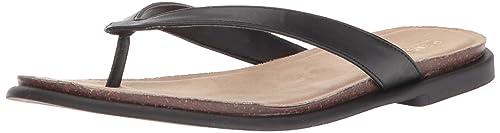 0ff9764efa09b5 Reaction Kenneth Cole Jel-Ing Fabric Thong Sandal Black