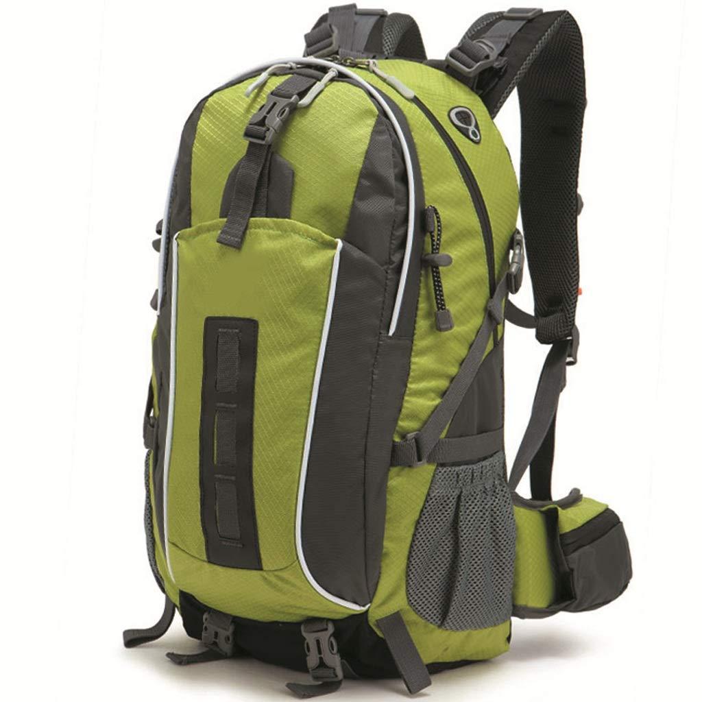 vert  Alpinisme en Plein air Sac Hommes et Femmes randonnée Camping Sac à Dos en Plein air 45L (Vert)