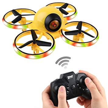 Makerfire Mini Drone para niños, 2.4G RC Drone RC Mini Quadcopter ...