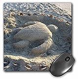 Best 3dRose Turtle Beach Mouse Pads - 3dRose Florene Beach - Sand Turtle On Captiva Review
