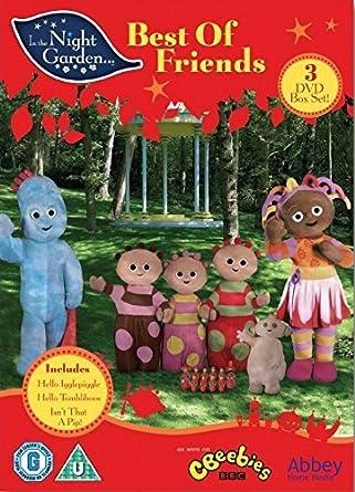 El jardín de los sueños / In The Night Garden: Best Of Friends - 3-DVD Box Set In the Night Garden… Origen UK, Ningun Idioma Espanol: Amazon.es: Derek Jacobi, Nick Kellington, Andy