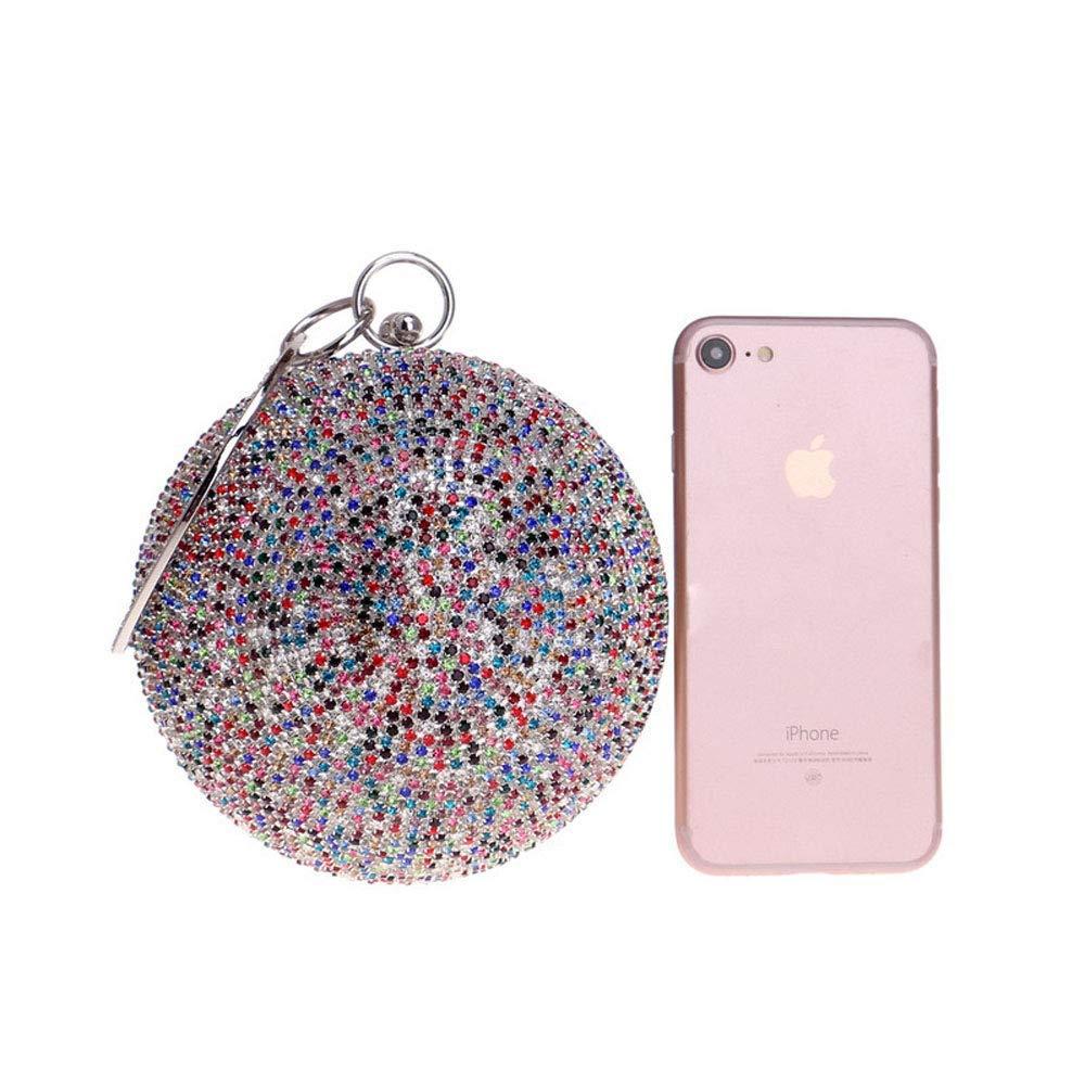 Willsego Strass Abendtasche, Europa und Amerika Diamant Kugel Kugel Kugel Handtasche für Tanz Hochzeit (Farbe   E, Größe   12x10x3cm(5x4x1inch)) B07KP6PH4X Clutches Günstigstes 3837b4