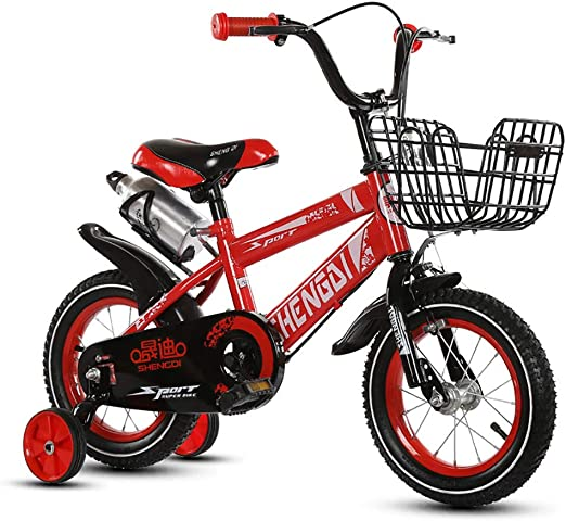 FJ-MC Unisexo Bicicleta para niños, 12