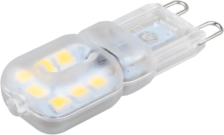 Pceewtyt G9 3W 2835 SMD No Dimmable LED Spot Light Energy Saving Corn Bulb Lamp 220V Natural White