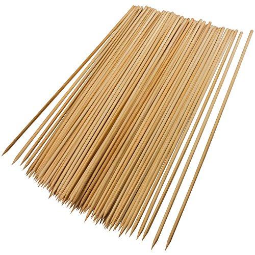 Good Cook Kabob Skewers Value Pack -- Set of 200 Wooden Skewers (9.75 Inches) (200)