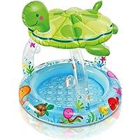 Intex Sea Turtle Shade Inflatable Baby Pool