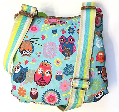 Lily Bloom Camilla Crossbody Bag in Owl Always Love You Pattern by Lily Bloom (Image #1)'