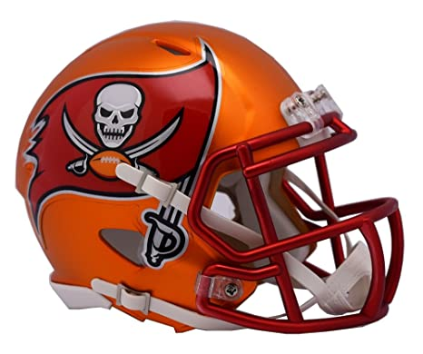 b4db9236 Amazon.com : NFL Tampa Bay Buccaneers Alternate Blaze Speed Mini ...