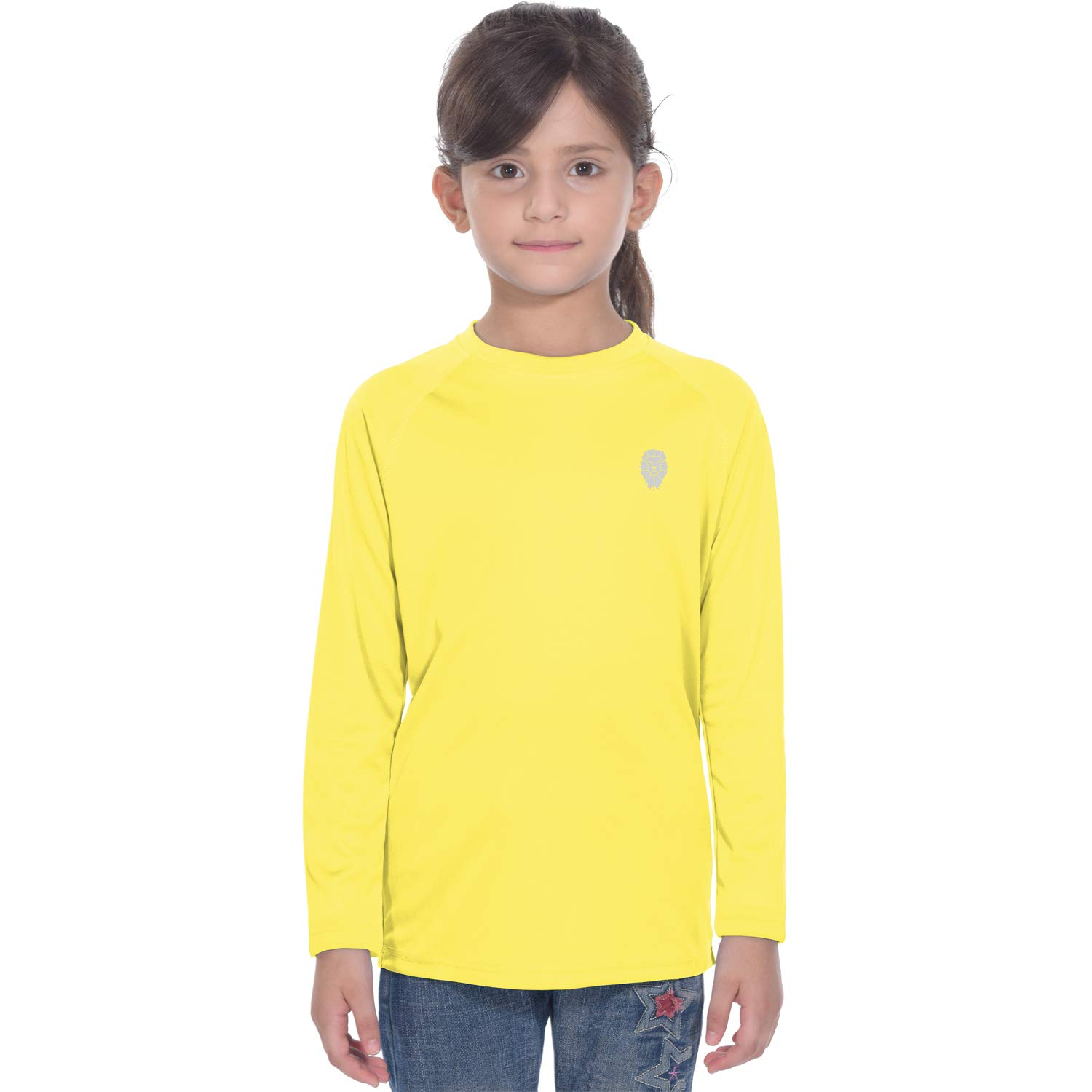 PIQIDIG Youth UV Long Sleeve Shirt Yellow by PIQIDIG