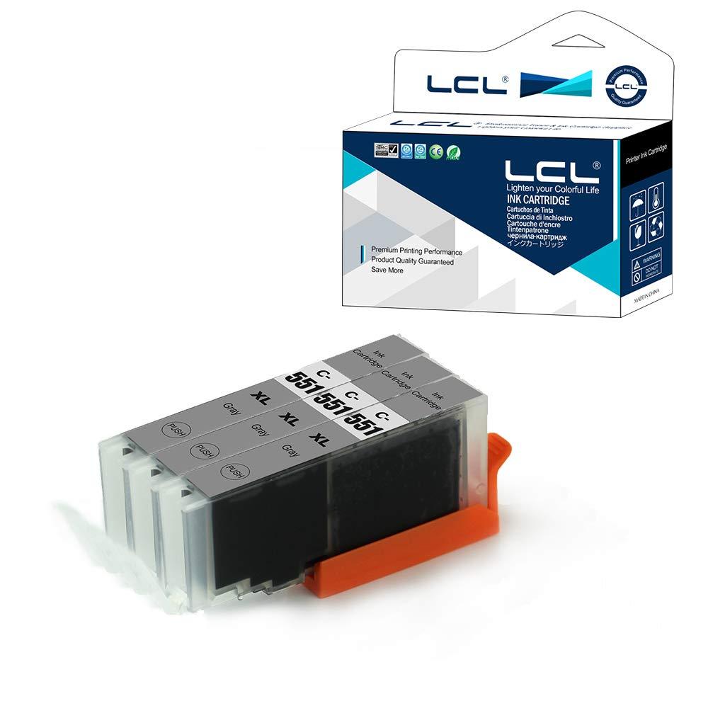 3 Negro Reemplazo para HP Deskjet Ink Advantage 3525 4615 4625 5525 6520 6525 LCL Cartucho de Tinta Compatible 655 655XL