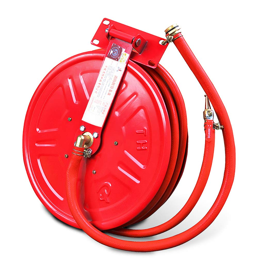 T-king Fire Hose Reel Fire Protection Equipment Fire Hydrant Box Self-Help Hose 20m