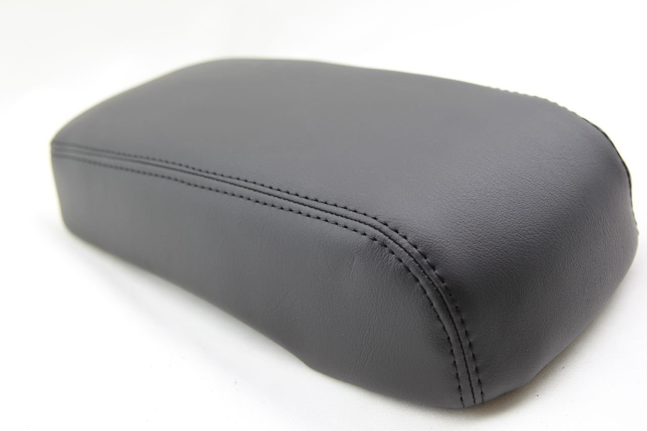 Chevy Cruze Console Armrest Synthetic Leather Cover Black Gray Stitch for 11-15