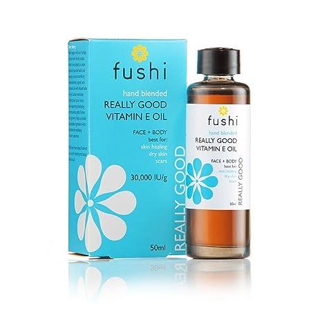 fushi realmente Good vitamina E Aceite de piel 50 ml