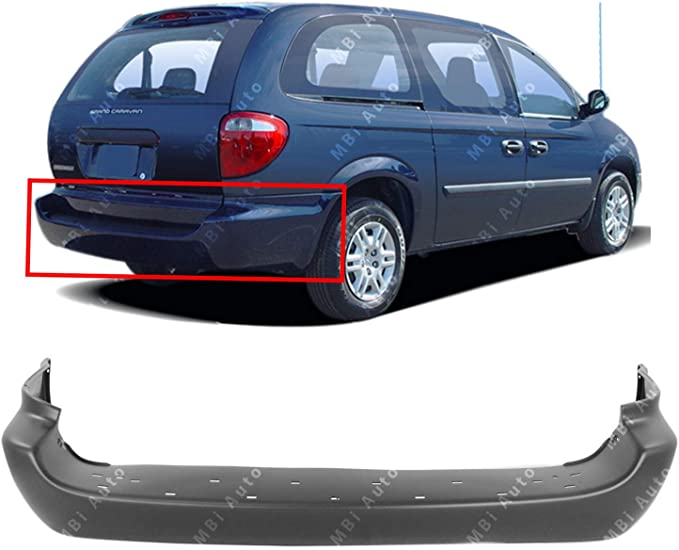 Partslink Number CH1000924 OE Replacement 2007-2010 Dodge Caravan Bumper Cover