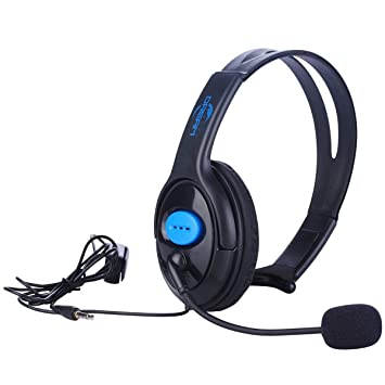 Wired Unilateral Headset for PS4, Megadream 3 5mm Audio