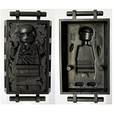 LEGO Star Wars Minifig Han Solo in Carbonite: Toys & Games