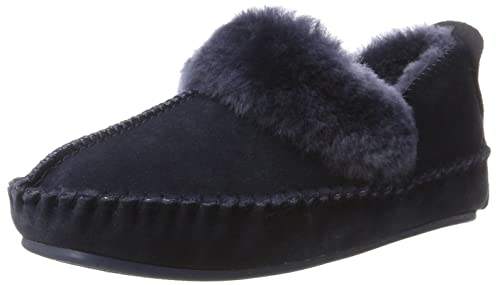Polar Fox, Zapatillas de Estar por Casa para Mujer, Gris (Dark Grey 85), 39 EU Warmbat