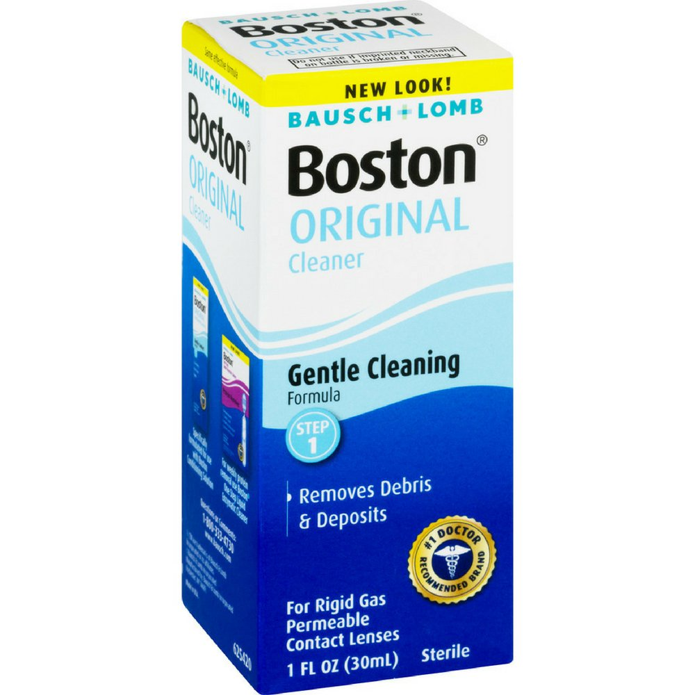 Bausch & Lomb Boston Original Cleaner 1 oz (Pack of 3)