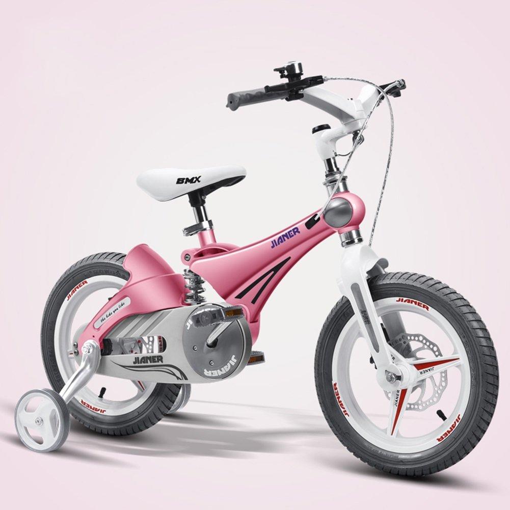 XQ TY-107ガール12/14/16インチ自転車ショック防止折りたたみ子供用自転車 ピンク 子ども用自転車 ( サイズ さいず : 14inch ) B07C5P7XZM 14inch 14inch