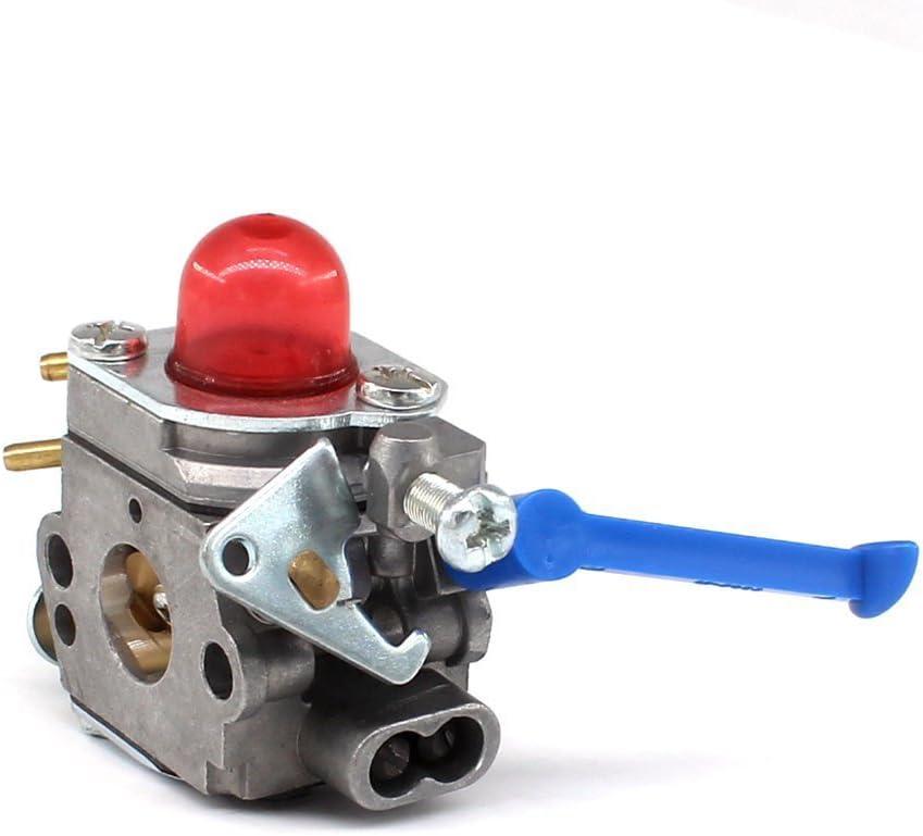 Carburateur AISEN avec filtre /à air Cl/é sp/éciale pour Husqvarna 124L 125E 125C 125L 125LD 125R 125RJ 128C 128CD 128L 128LD 128LDX 128R 128RJ 128DJX String Trimmer C1Q-W40A