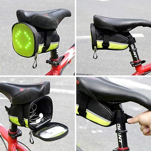 Fancywing DEL Vélo Selle Sac//Vélo Selle Sac avec Réfléchissant Turn Signal