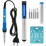 Leaning Tech - Juego de herramientas con soldador, equipo de soldadura, estación de soldadura