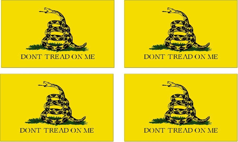 "DON/'T TREAD ON ME Decal Gadsden Flag Sticker Truck Car Military Patriotic 6/"""