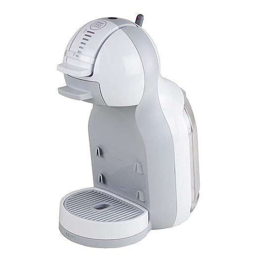 Krups KP 1201 Cafetera multibebida Nescafé Dolce Gusto Mini Me Más 48 Cápsulas - Color blanco y gris