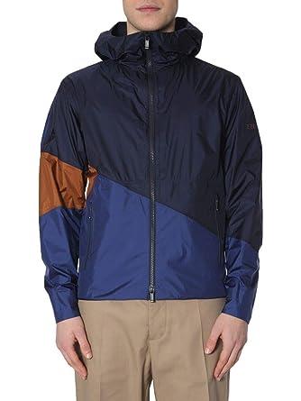 890900bb6e Z Zegna Men's Zz085vs032b09 Blue Polyamide Outerwear Jacket at ...