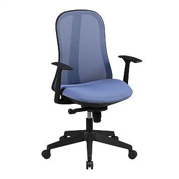 Amstylle Schreibtischstuhl Idal Furs Jugendzimmer In Blau Schwarz