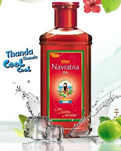 Navratna Hair Oil/Emami/Himani Emami/Himani Navratna base de hierbas ayurvédicas de